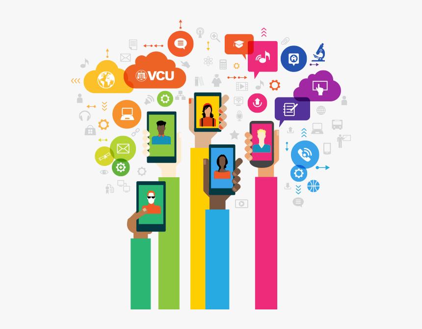 Vcu Social Media - Target Market In Social Media, HD Png Download, Free Download