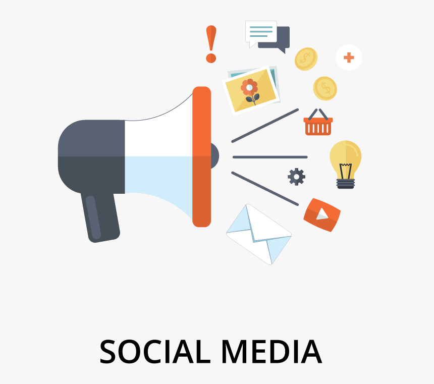 Social Media From Coldfire Promotions - Promotions Social Media Logo, HD Png Download, Free Download