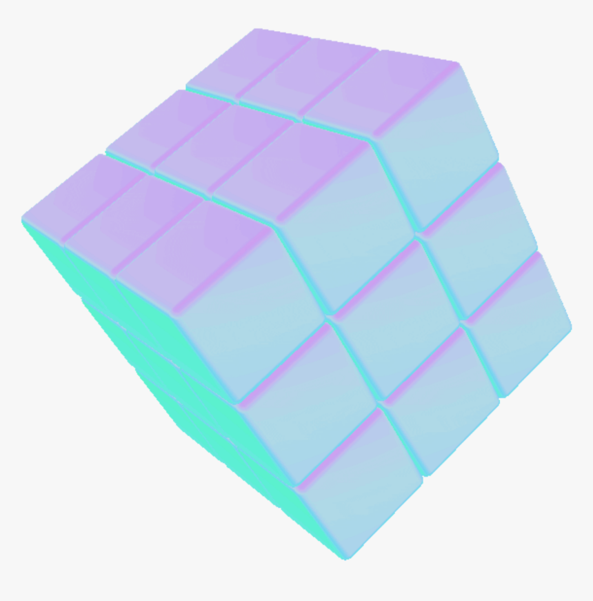 Ftestickers Cube 3d Vaporwave Tumblr Aesthetic Aesthetic Blue Gif Transparent Hd Png Download Kindpng