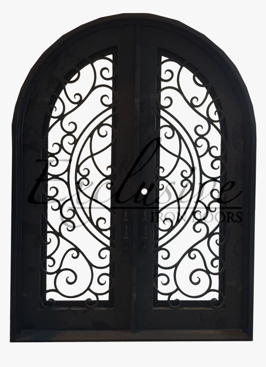 Lorraine Round Double Iron Door - Gate, HD Png Download, Free Download