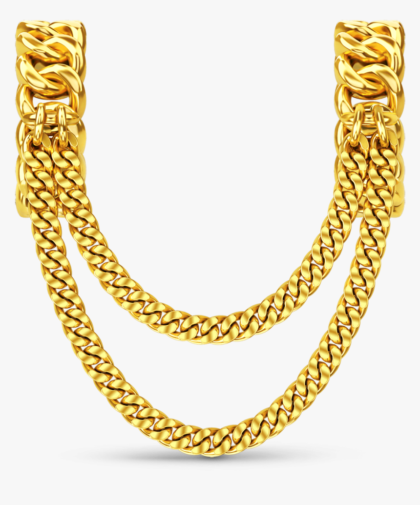 Jewellery Chain Jewellery Chain Necklace Gold - Necklace, HD Png Download, Free Download