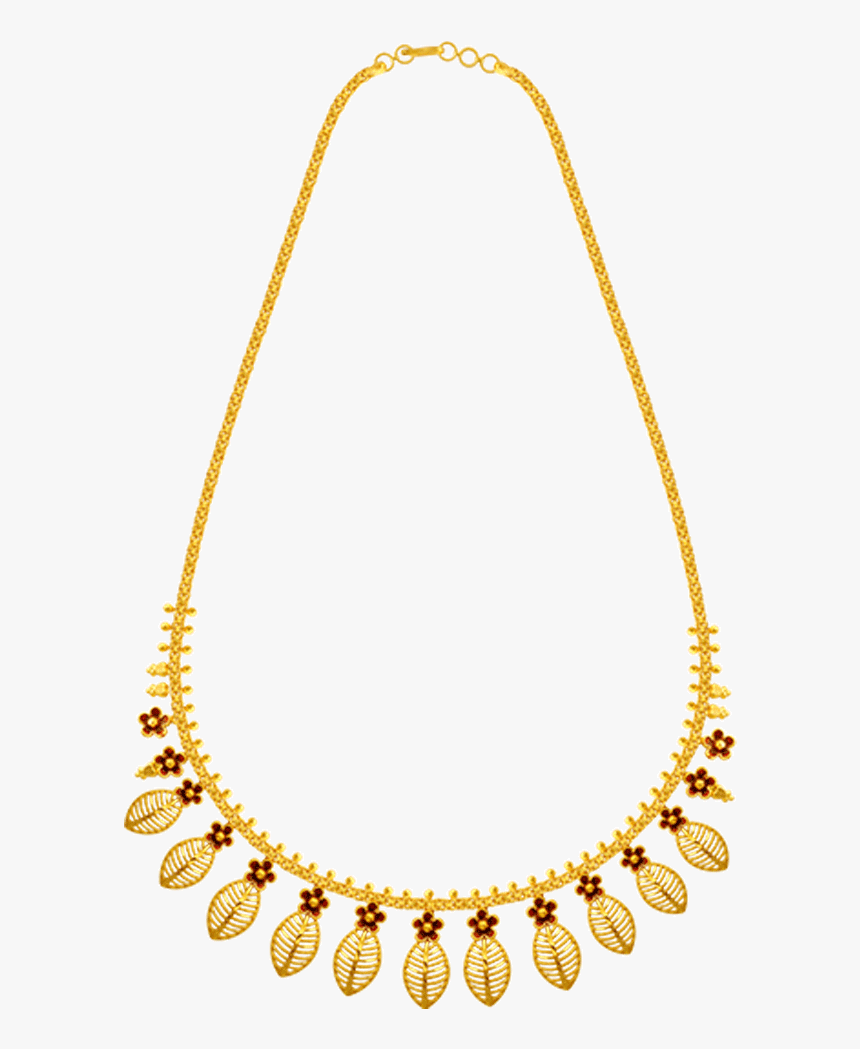 22k Yellow Gold Necklace Necklace Pc Chandra Jewellers Hd Png Download Kindpng