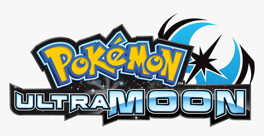Pokemon Logo Png - Pokemon Ultra Sun And Moon Title, Transparent Png, Free Download