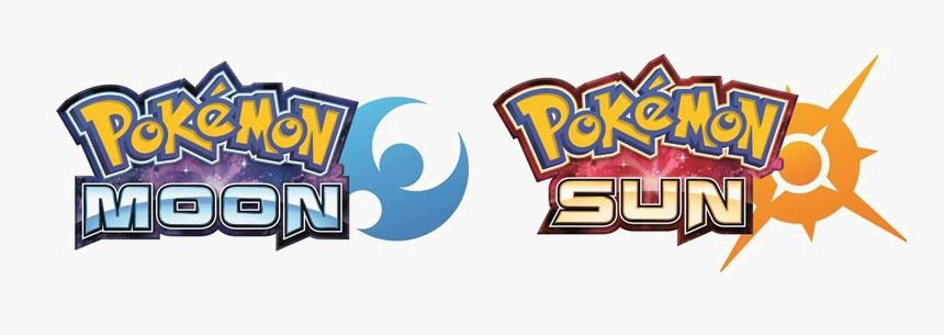 Pokemon Logo Png Download Image - Pokemon Sun Moon Logos, Transparent Png, Free Download