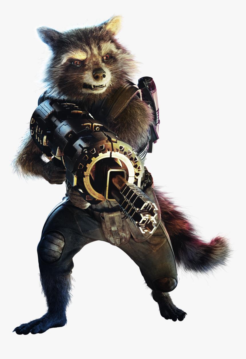 Rocket Png Marvel - Rocket Raccoon Transparent Background, Png Download, Free Download