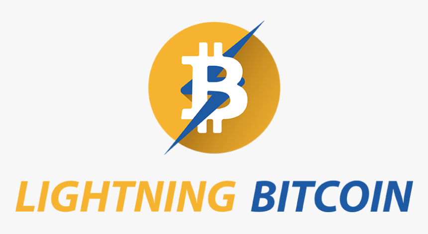 Logo Of Lightning Bitcoin - Bitcoin Lightning Logo, HD Png Download, Free Download