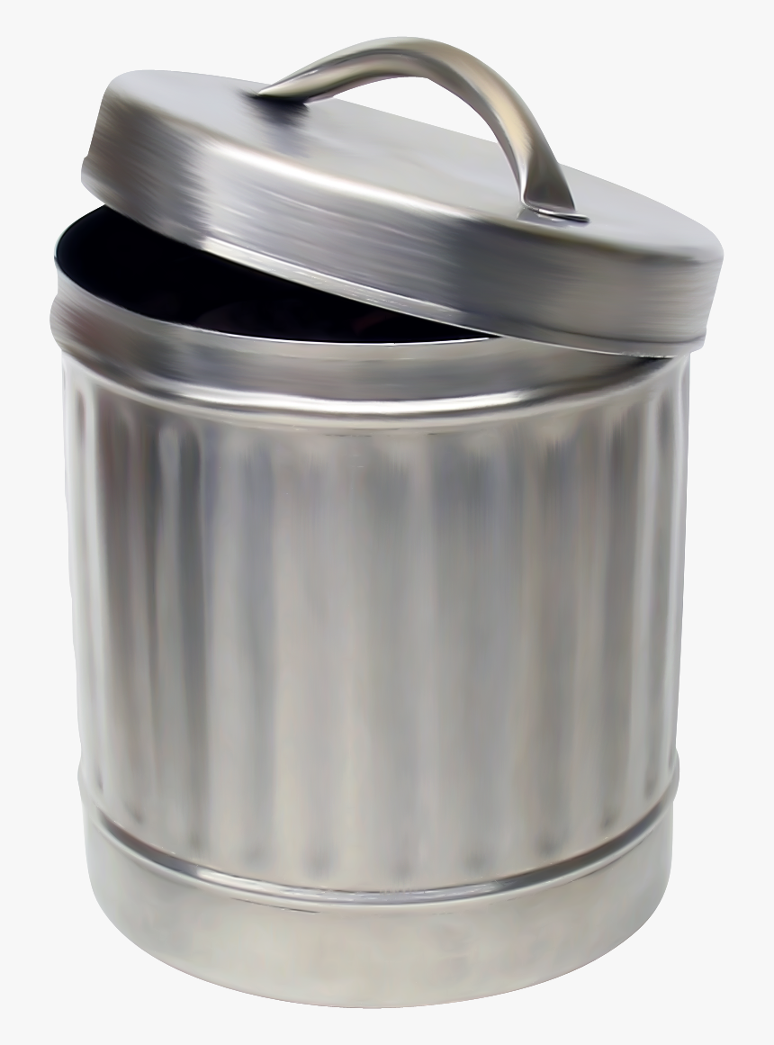 Trash Can - Transparent Trash Can, HD Png Download, Free Download