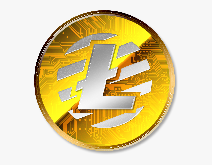 Currency Litecoin Bitcoin Virtual Cash Png File Hd - Lite Coin Png, Transparent Png, Free Download