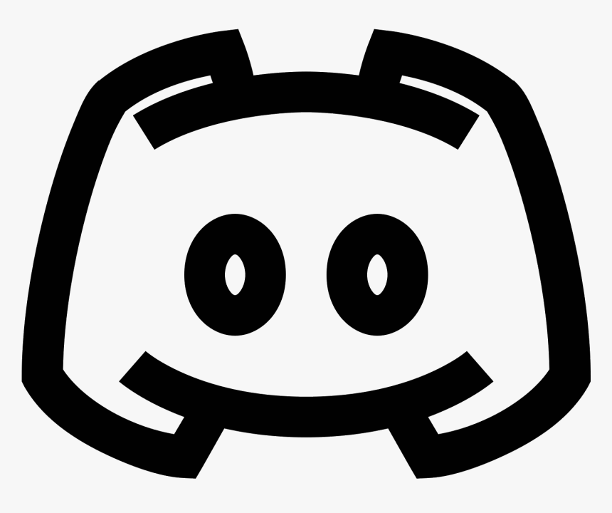 White Discord Logo Png Discord Icon White Png Transparent Png