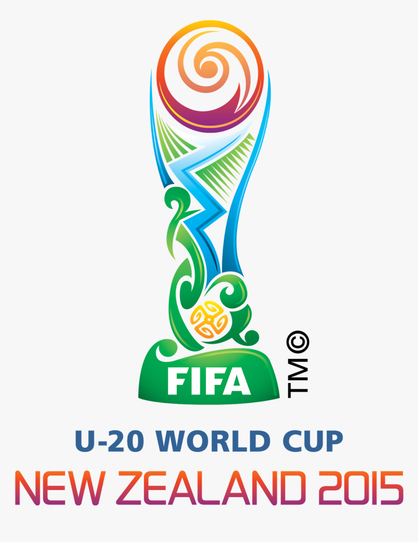 Cricket World Cup 2015 Trophy Png World Cup New Zealand - 2015 Fifa U 20 World Cup Logo, Transparent Png, Free Download