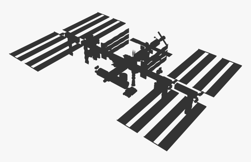 Iss Space Station Png, Transparent Png, Free Download