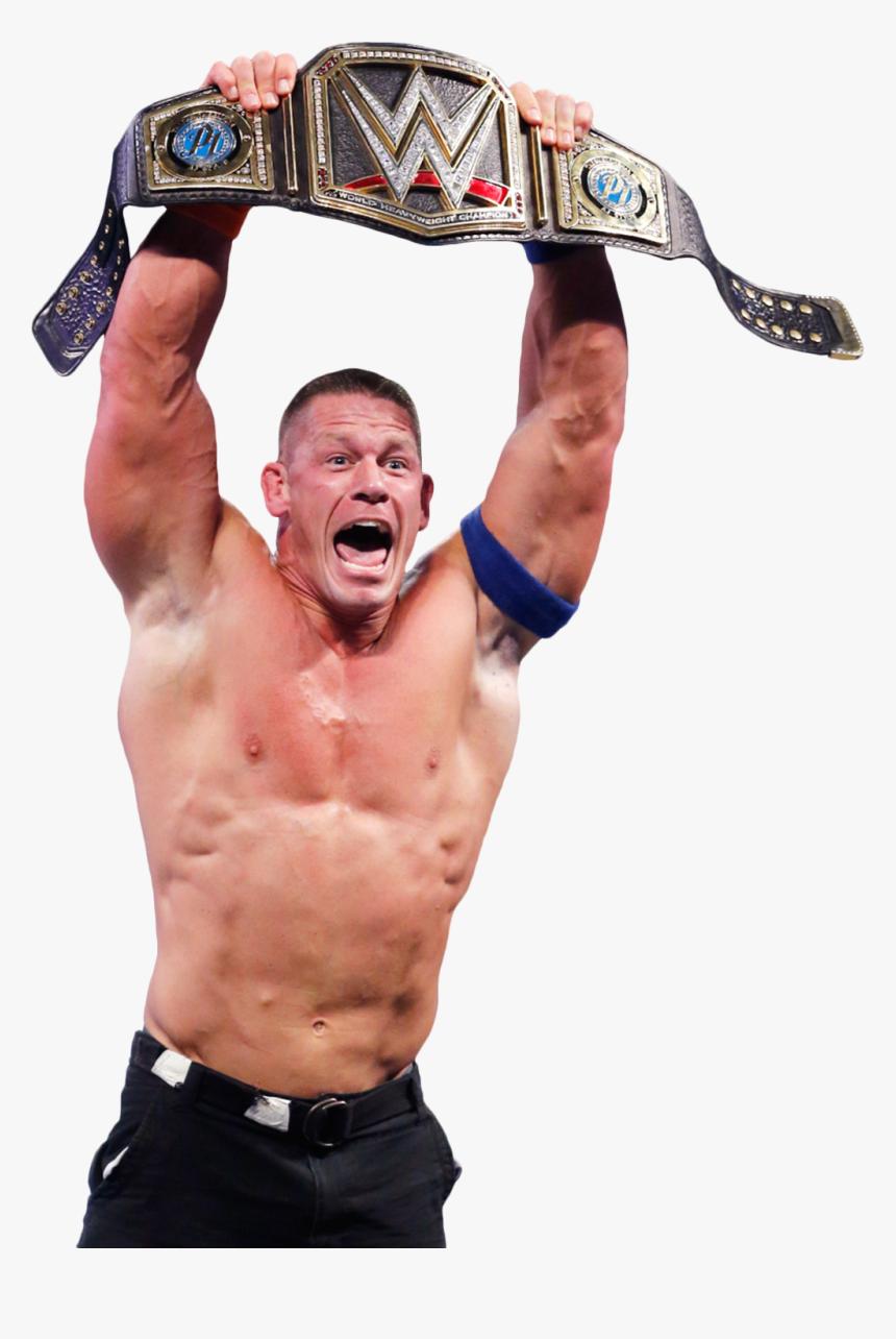 John Cena Face Png - John Cena 2017 Wwe Champion, Transparent Png, Free Download