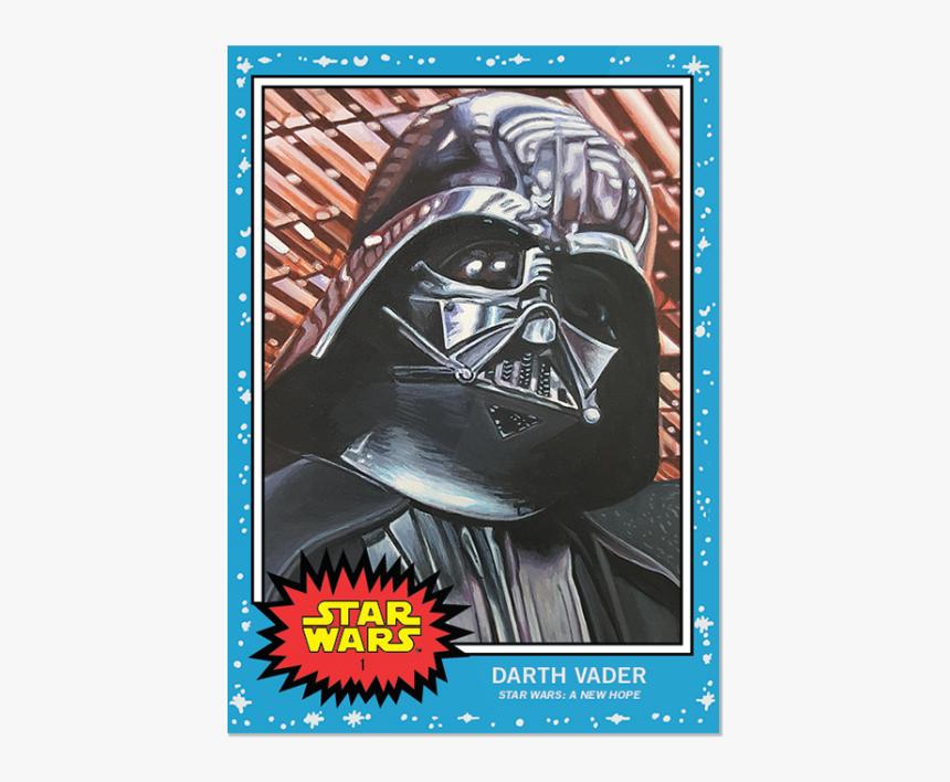 Topps Star Wars Living Set Card - Topps Star Wars Living Set, HD Png Download, Free Download