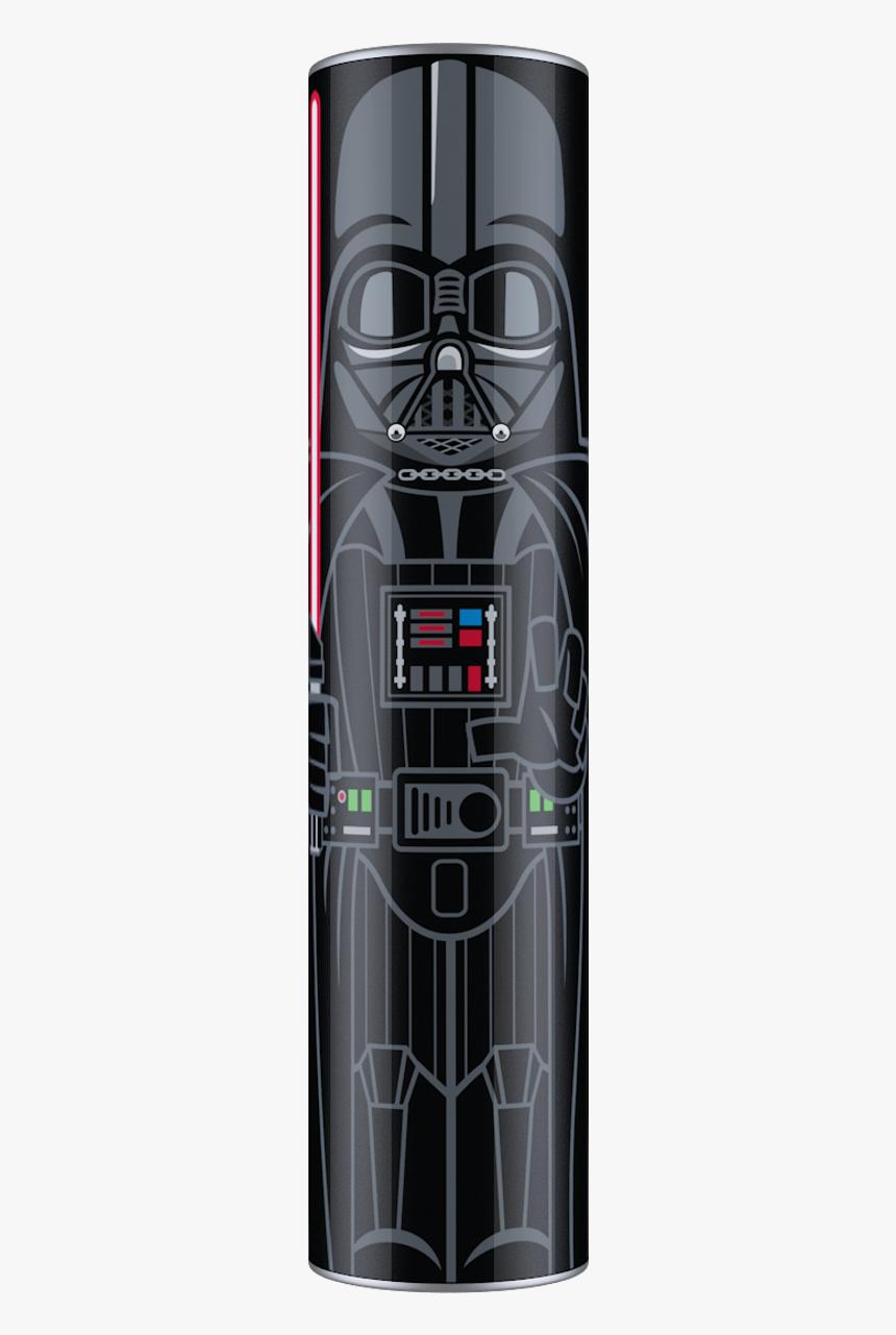 Darth Vader Star Wars Mimopowertube 2600mah Portable - Darth Vader, HD Png Download, Free Download
