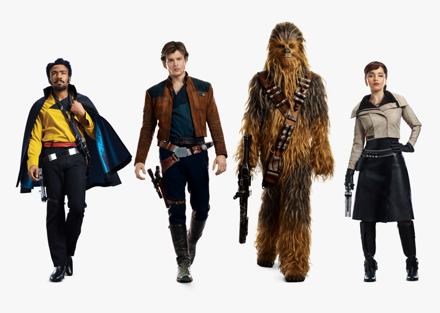 Characters Of Solo A Star Wars Story Transparent Background - Solo Star Wars Characters, HD Png Download, Free Download