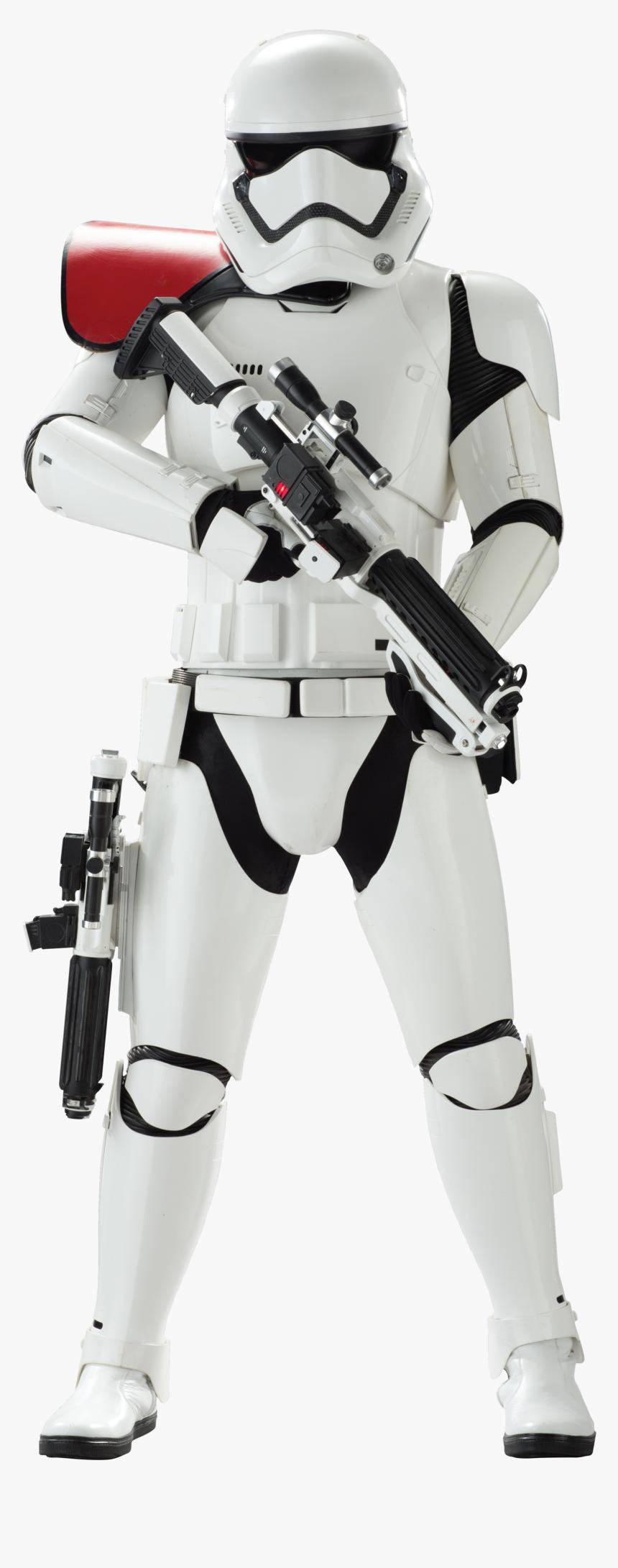 Stormtrooper Star Wars Png Pic - First Order Stormtrooper Officer, Transparent Png, Free Download
