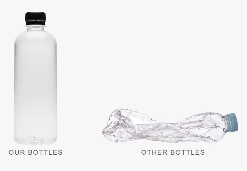 Our Bottle Vs Other Bottles - Water Bottle, HD Png Download, Free Download