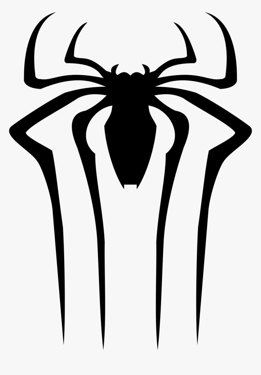 Spider Clipart Spiderman Logo - Amazing Spider Man Spider, HD Png Download, Free Download
