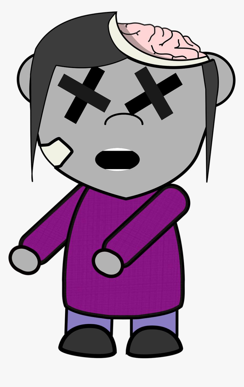Gambar Zombie Kartun HD Download Kindpng