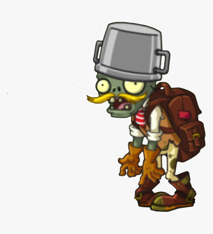 Image Hd Adventurer Zombie Png Plants Vs Zombies Wiki - Pvz 2 Adventurer Zombie, Transparent Png, Free Download