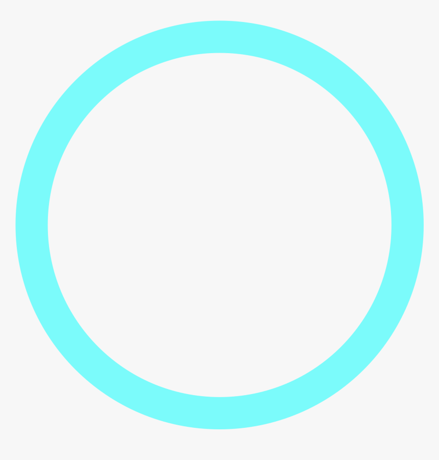 Turquoise Circle Png, Transparent Png, Free Download