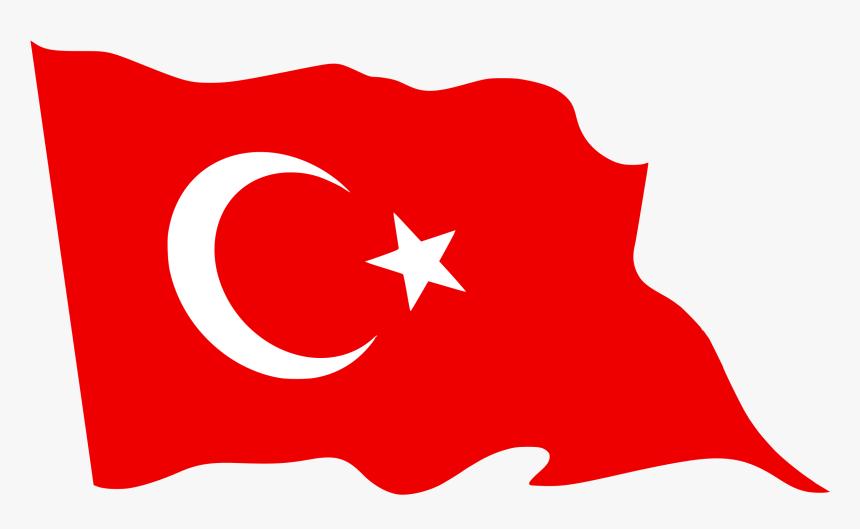 Flag Of Turkey Red Waving Flag Png Transparent Png Kindpng