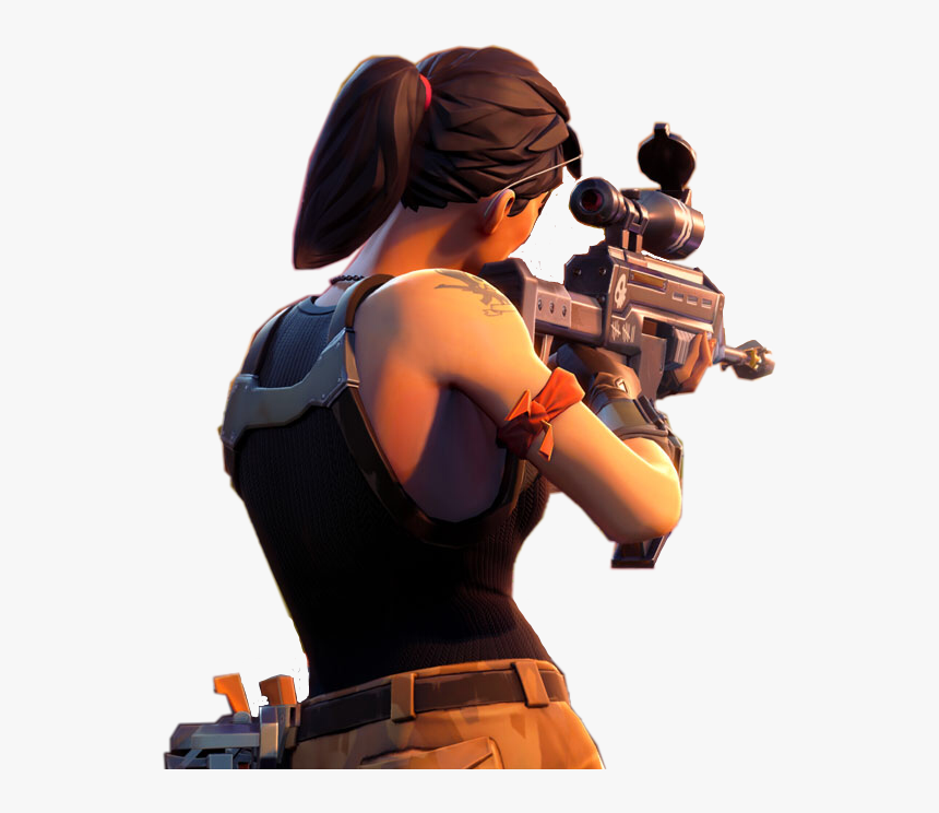Fortnite Character With Gun Png , Transparent Cartoons - Fortnite Character With Gun Transparent, Png Download, Free Download