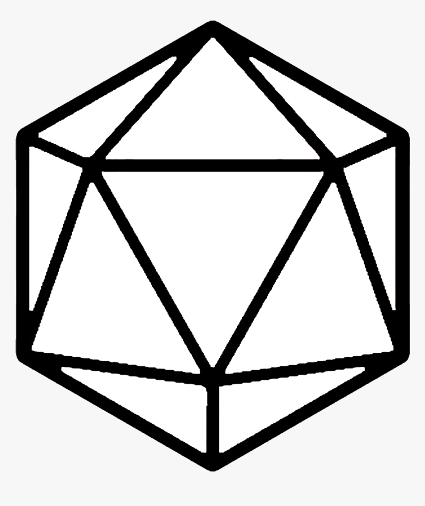Transparent D20 Clipart - 20 Sided Dice Png, Png Download, Free Download
