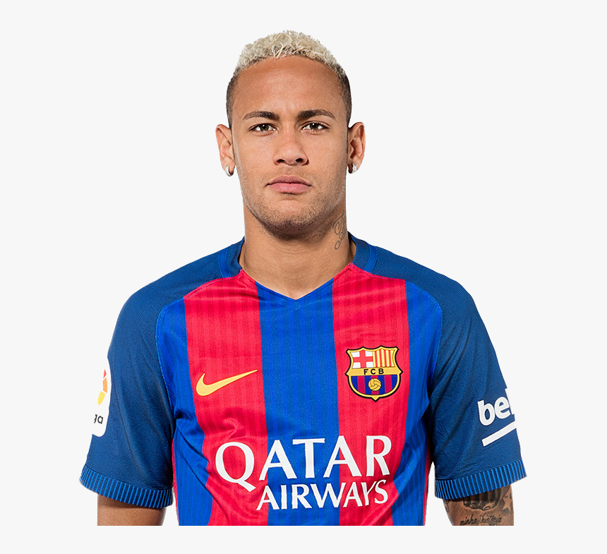 Neymar Jr Png Face - Neymar Barca Png, Transparent Png, Free Download