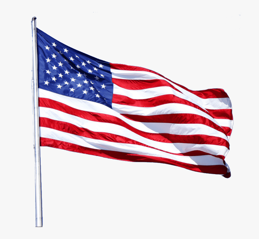 All Weather Nylon Us Flag - United State Usa Flag, HD Png Download, Free Download
