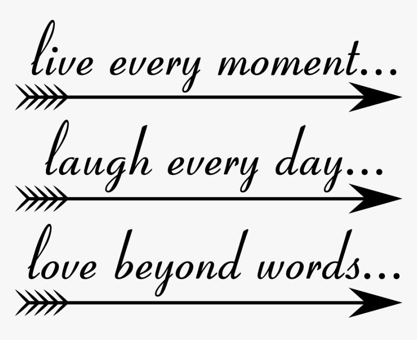 Transparent Live Laugh Love Png Calligraphy Png Download Kindpng