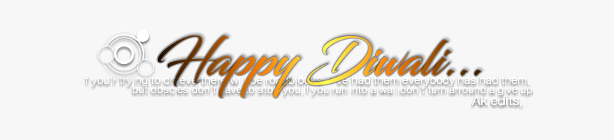 Happy Diwali Background Png - Calligraphy, Transparent Png, Free Download