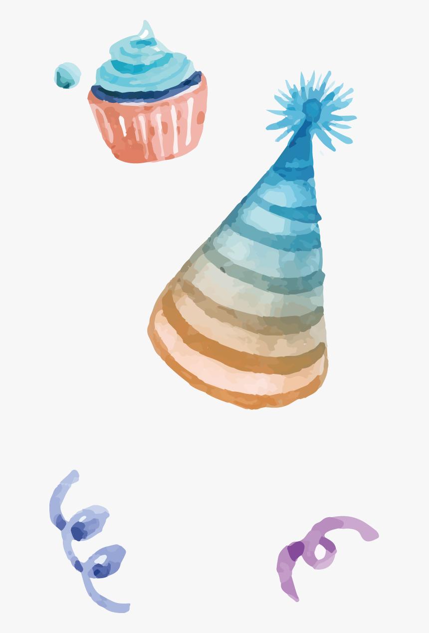 Happy Birthday Watercolor - Happy Birthday Watercolor Png, Transparent Png, Free Download