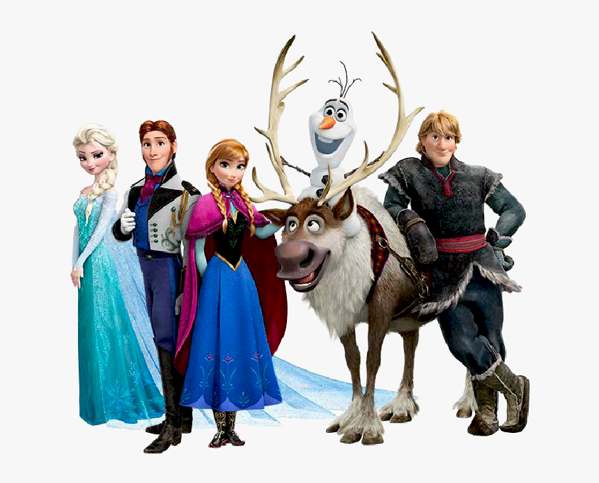 Frozen Characters Png, Transparent Png, Free Download