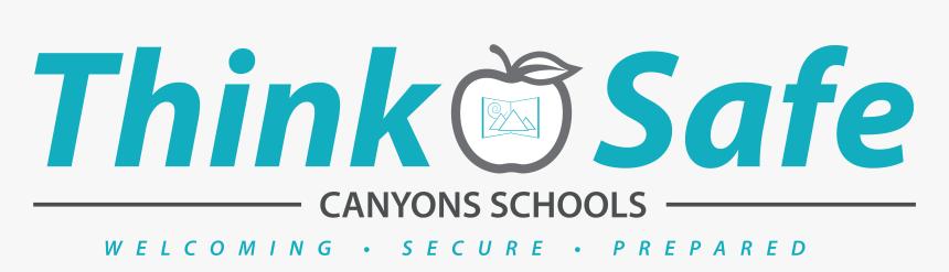 Think Safe Transparent Bkg - Graphic Design, HD Png Download, Free Download
