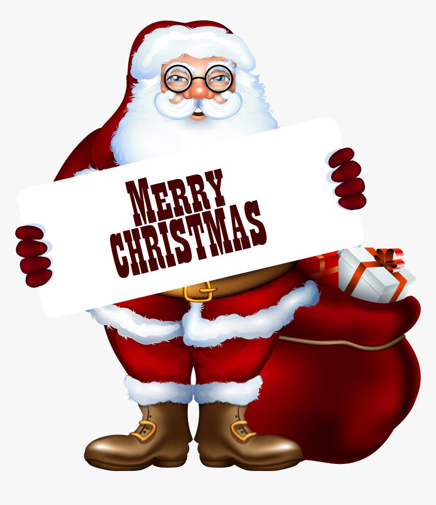 Clipart Christmas Santa Claus Cliparts Download Merry Christmas Santa Clipart Hd Png Download Kindpng