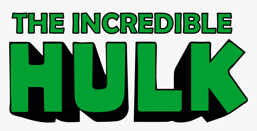 The Incredible Hulk Logo - Hulk Logo Png, Transparent Png, Free Download