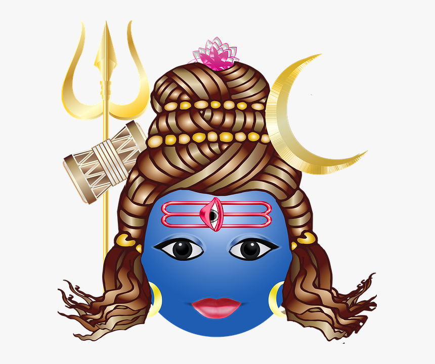Free Pictures, Shiva, My Arts, Lord Shiva - Lord Shiva Emoji, HD Png Download, Free Download