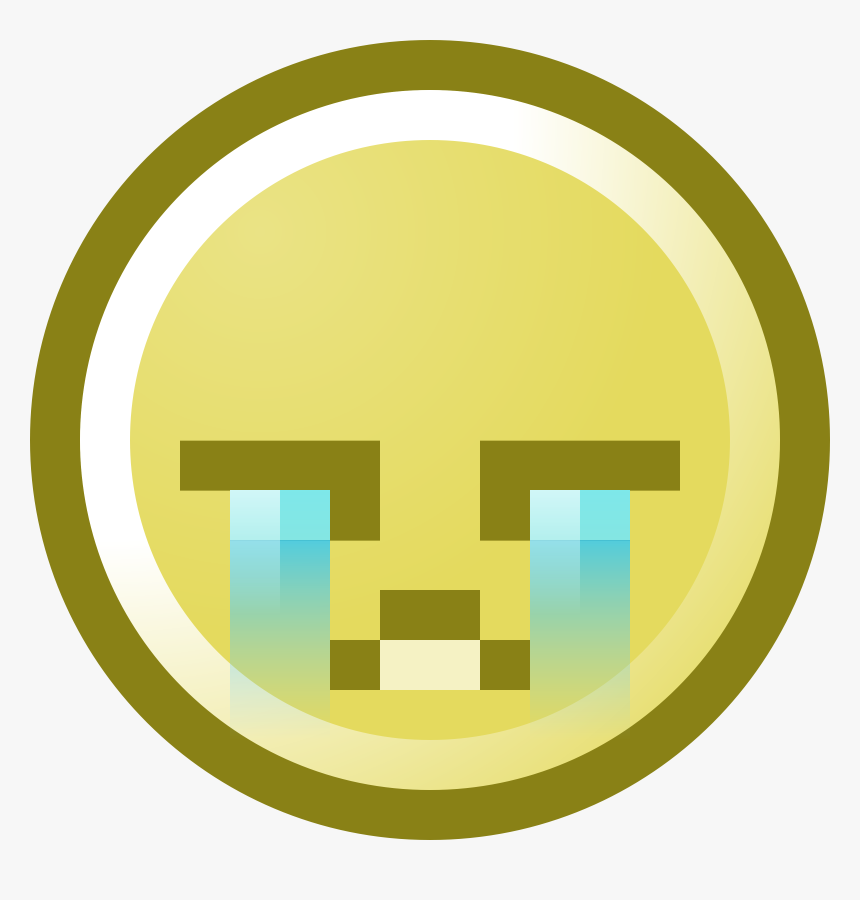 Crying Smiley Face Clipart - Clip Art, HD Png Download, Free Download