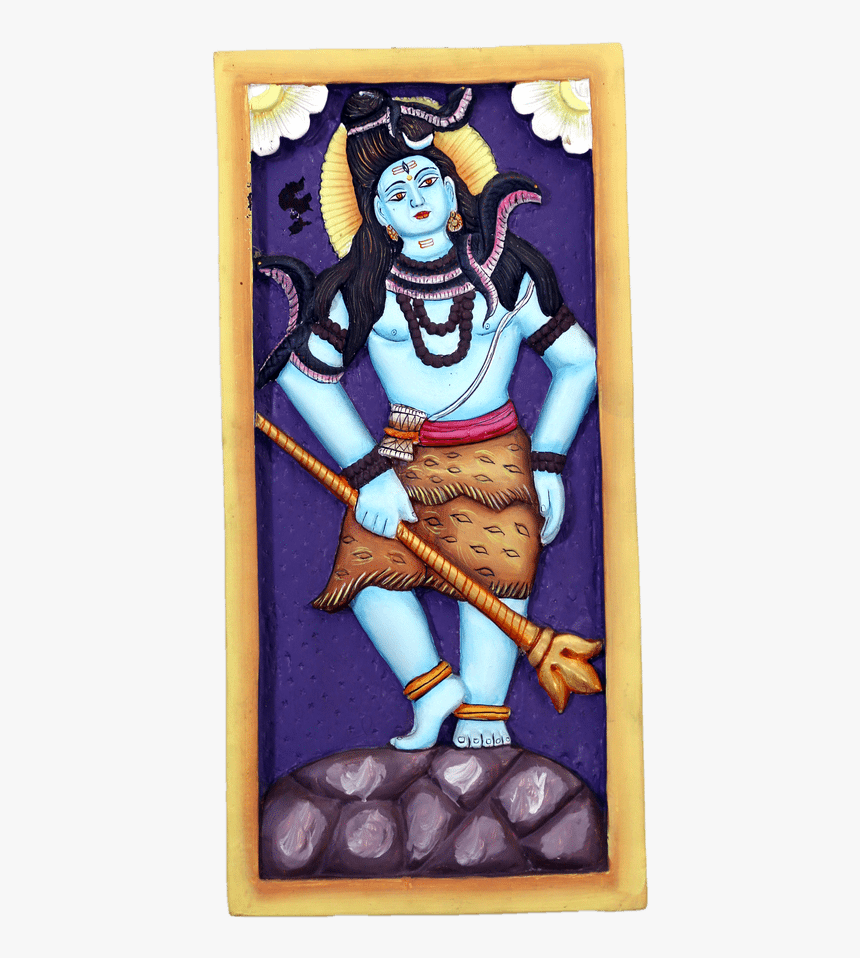 Wall Hanging Lord Shiva - Cartoon, HD Png Download, Free Download