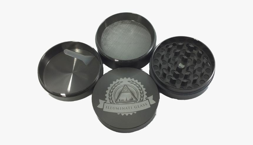 55mm Illuminati 4-pt Zinc Grinder - Eye Shadow, HD Png Download, Free Download