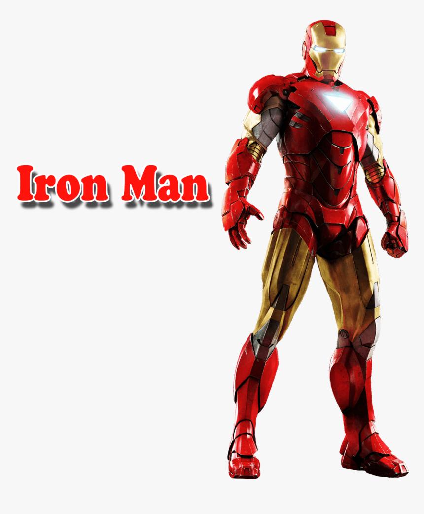 Iron Man Png Free Download - Iron Man Full Body Hd, Transparent Png, Free Download