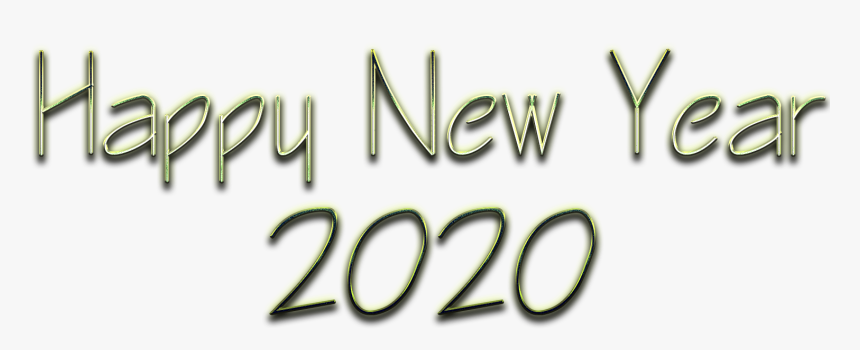 New Year Png Happy New Year 2020 Png Transparent Png