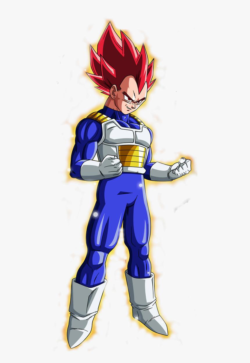 Thumb Image - Dragon Ball Z Vegeta Super Saiyan God, HD Png Download, Free Download