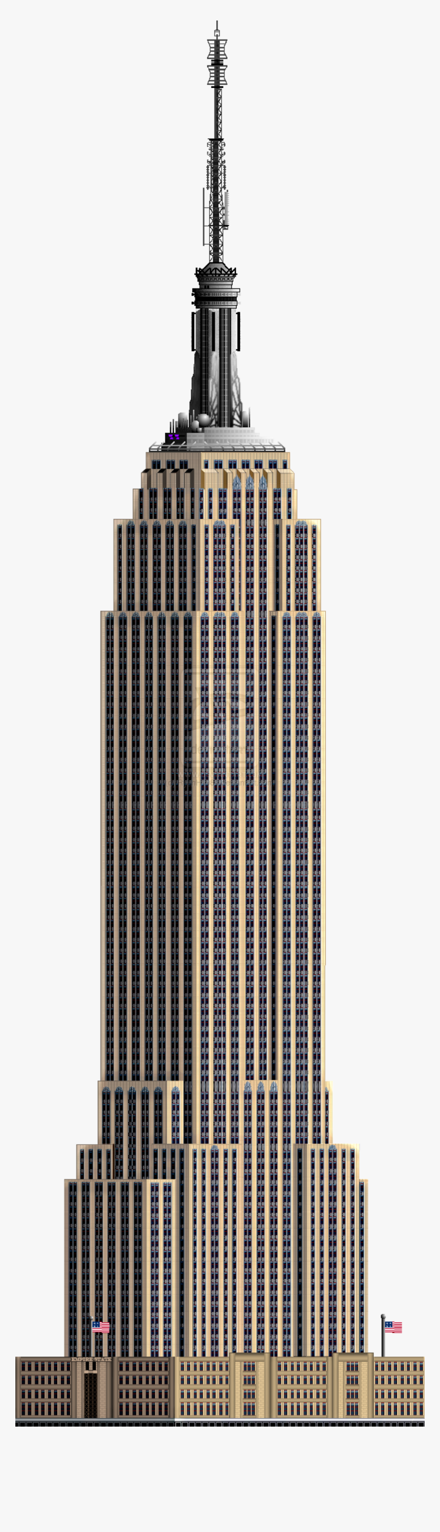 Building Picture Png Images - Empire State Building Png, Transparent Png, Free Download