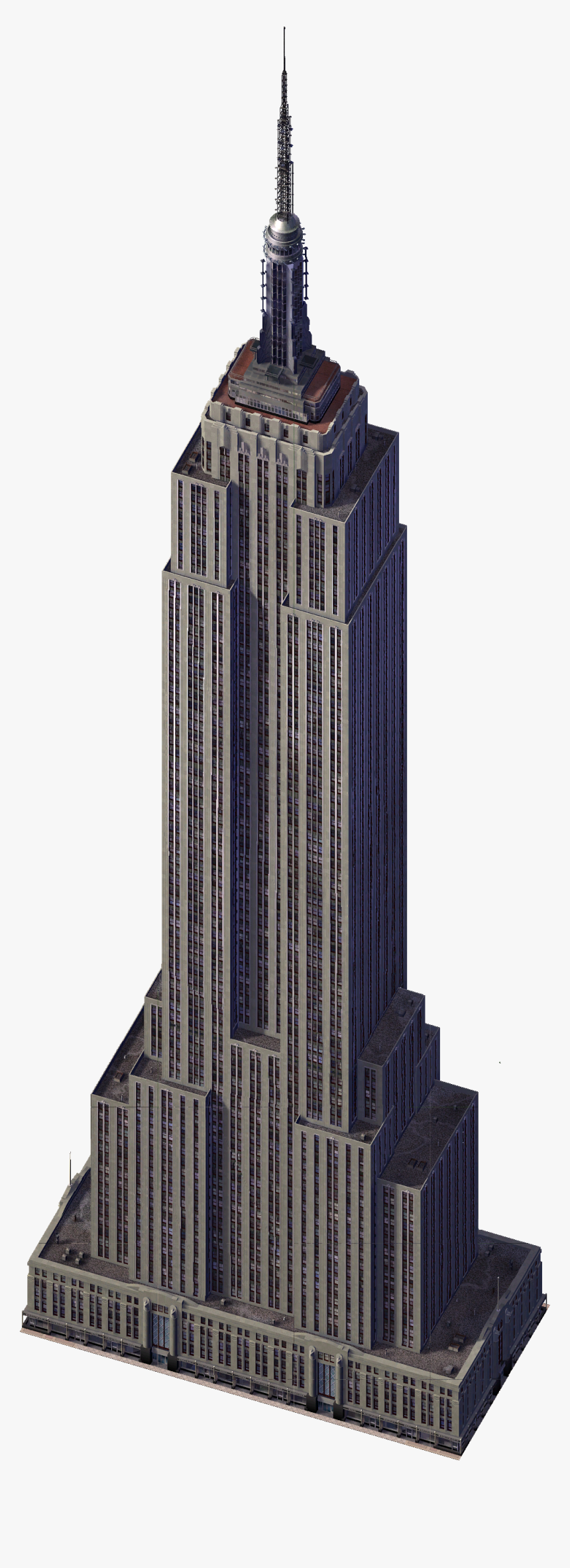 Empire State Building Png, Transparent Png, Free Download