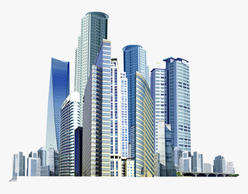 Building Icon Virtual City Picture Stock - High Rise Building Icon, HD Png Download, Free Download