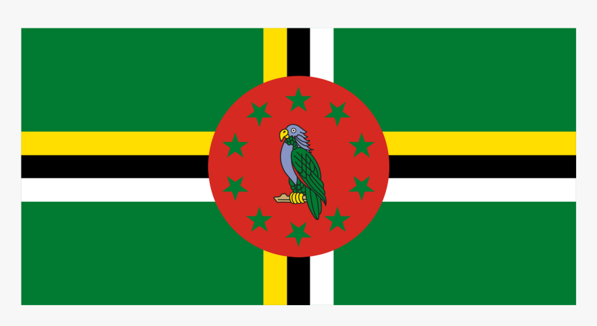 Enter Image Description Here - Flag Of The Dominica, HD Png Download, Free Download