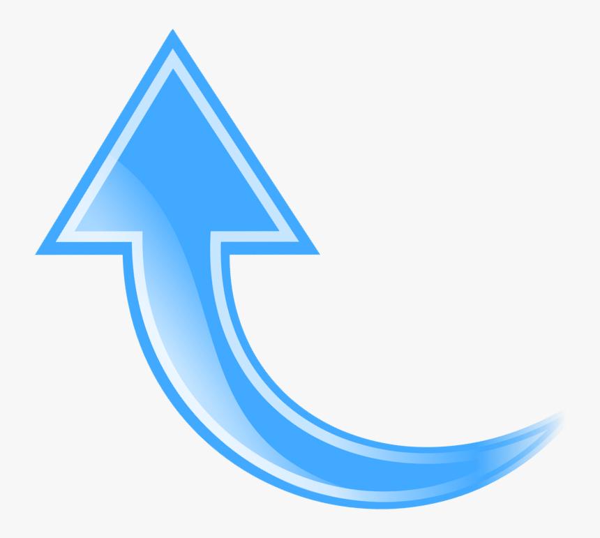 Arrow Clip Art Png - 3d Curved Arrow Png, Transparent Png, Free Download