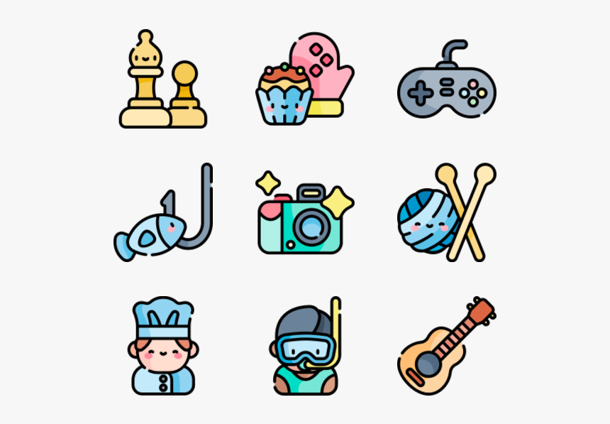 Hobbies And Free Time Free Clip Art Hobbies Hd Png Download Kindpng